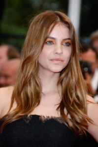 Barbara Palvin's Long Wavy Hair Cut