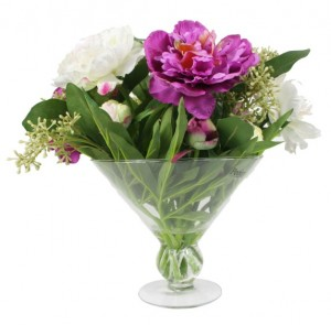 Picture for Beautiful Artificial Peonies in a Vase