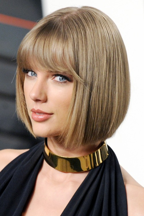 Taylor Swift Best Short Hair Color Styles Alluring To