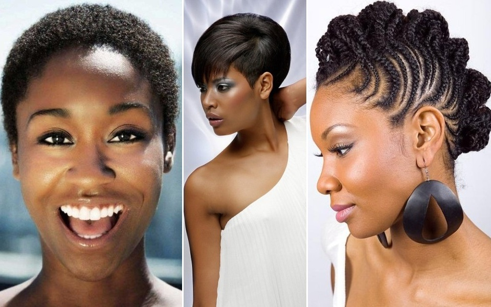 African American Hairstyles For Oval Shaped Faces